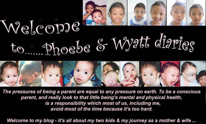 Phoebe N Wyatt Diaries ....