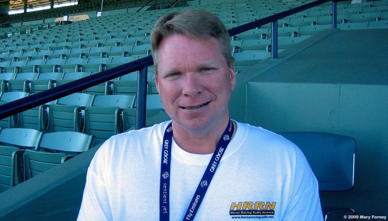 Mary Forney S Blog Keeneland Track Announcer Kurt Becker