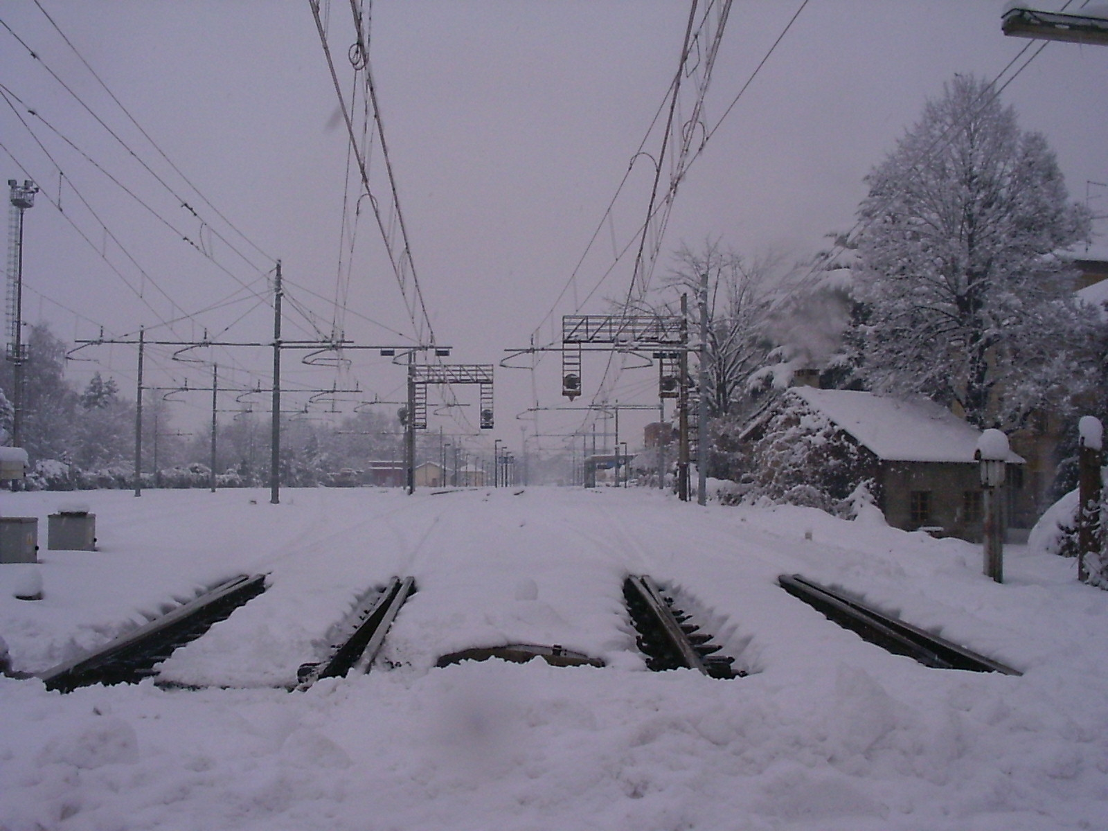 Neve e rotaie - Snow and rails