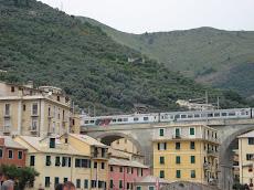 Rotaie a Bogliasco - Rails in Bogliasco (near Genoa)