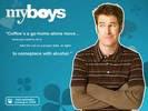 Jamie Kaler in My Boys TV Series Wallpaper 1