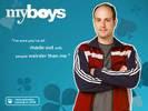 Michael Bunin in My Boys TV Series Wallpaper 5