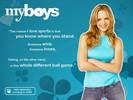 Jordana Spiro in My Boys TV Series Wallpaper 3