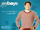 Kyle Howard in My Boys TV Series Wallpaper 4