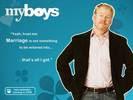 Jim Gaffigan in My Boys TV Series Wallpaper 6