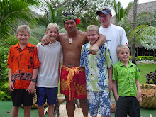 Me and my bros in Hawaii
