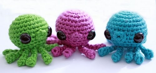 Mini Amigurumi Octopus : 2000 Free Amigurumi Patterns: Octopus pattern