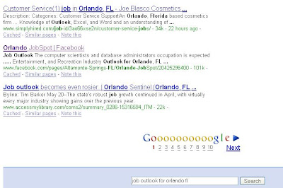 Facebook Organic Search Result
