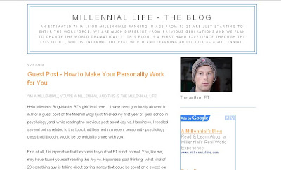 Millennial Life Blog by BT