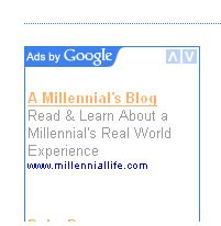 Millennials and AdWords