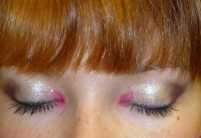 Maquillage : rose de sortie