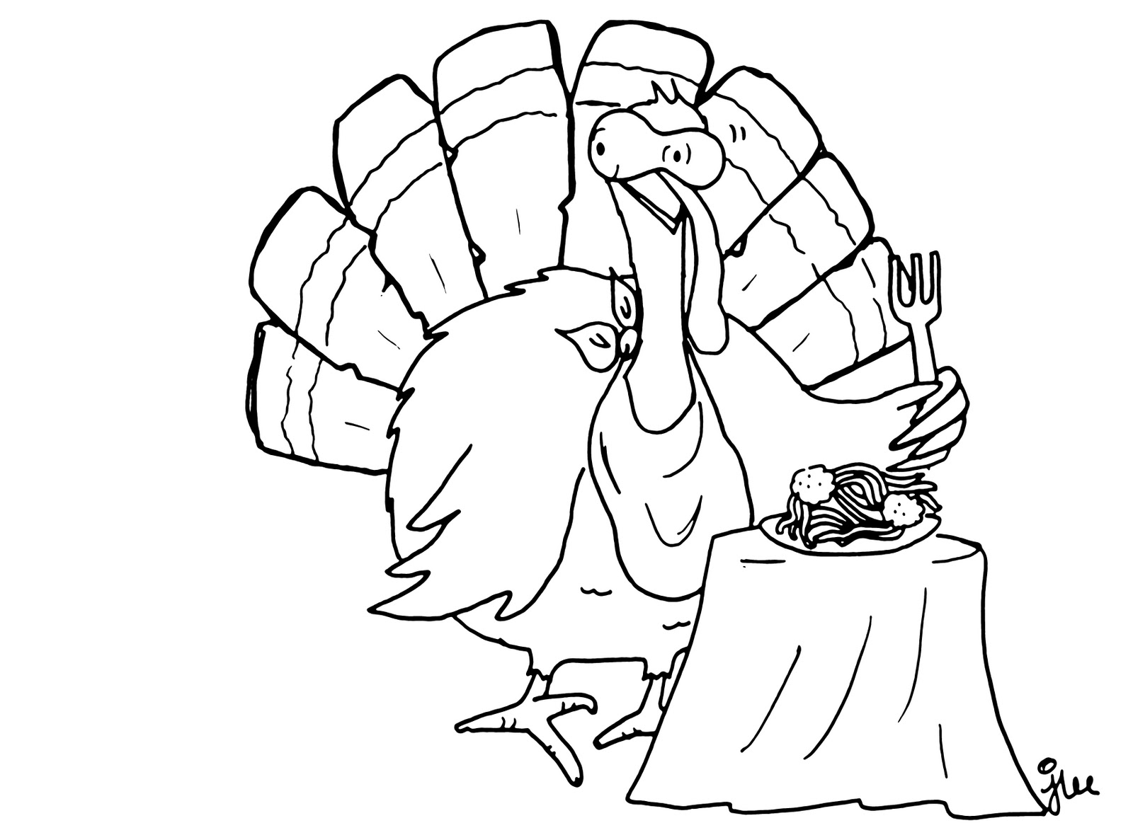 turkey head coloring pages | Turkey Head Coloring Pages