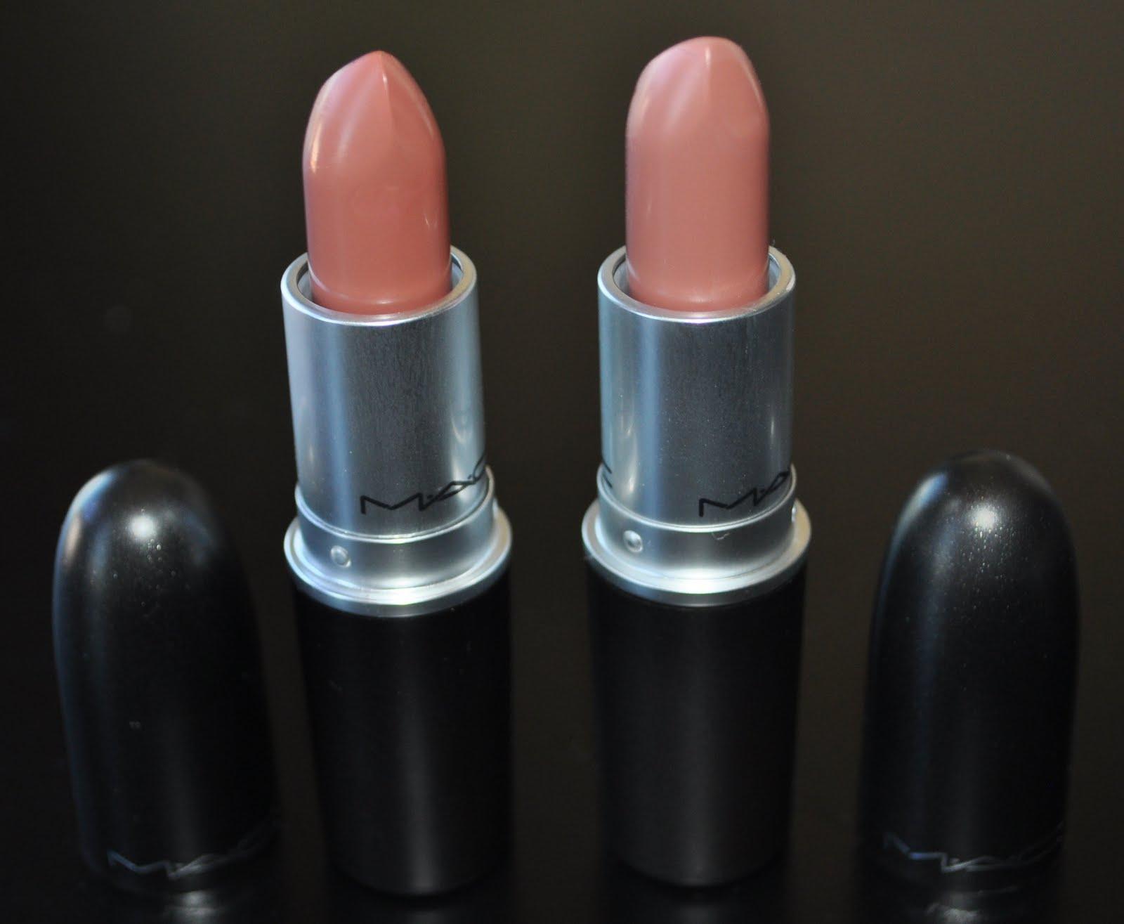 Pretty Addicted Review Mac Blankety And Half N Half Lipsticks