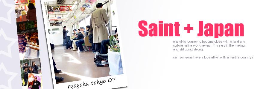 Saint + Japan = <3