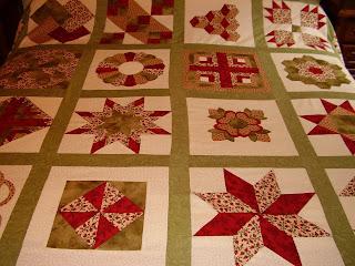 El blog de angela mi primera labor de patchwork - Patrones colchas patchwork ...