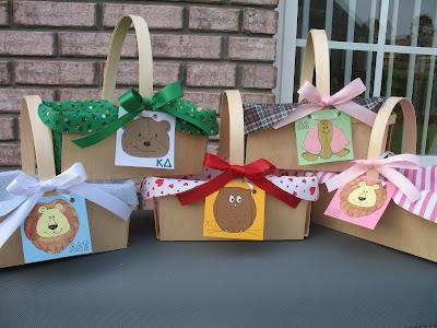 Sorority sisters sorority craft gift baskets for little for Sorority crafts for little