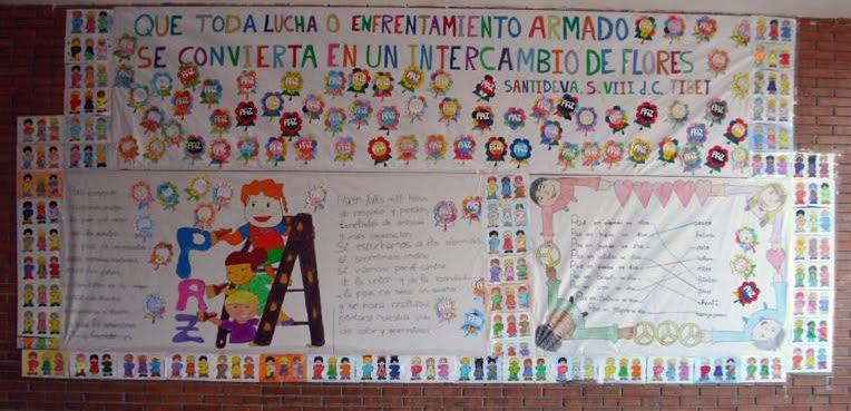 Día De La Paz Galería De Dibujos Y Carteles Niños Del: El Boletín Del CEIP San Francisco: Día Escolar De La Paz