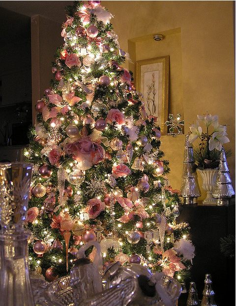 Letters from the Shore: Pink Christmas Ideas