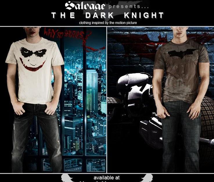 "Lisa Kline: Salvage Presents ""The Dark Knight""... Clothing"