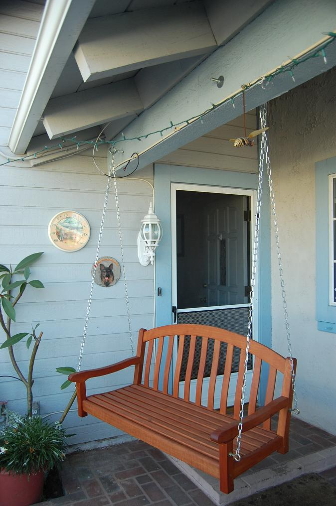 Das Amerika Abenteuer Veranda Schaukel Porch Swing