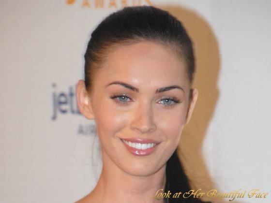 Look At Her Beautiful Face: Look At Megan Fox Beautiful Face