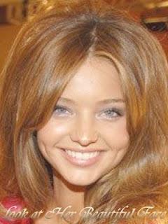 Look At Her Beautiful Face: Miranda Kerr's Exquisite Dimples