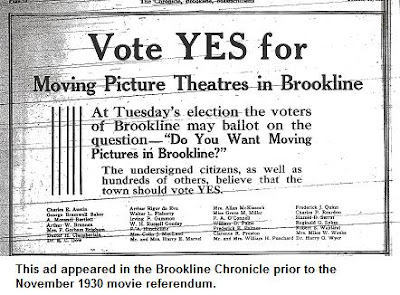 Illustration: Ad urging a Yes vote in the 1930 referendum