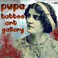 Pupa Tattoo Art Gallery