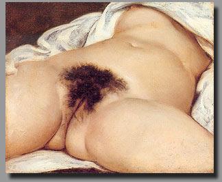 l'origine du monde - gustave courbet - 1866