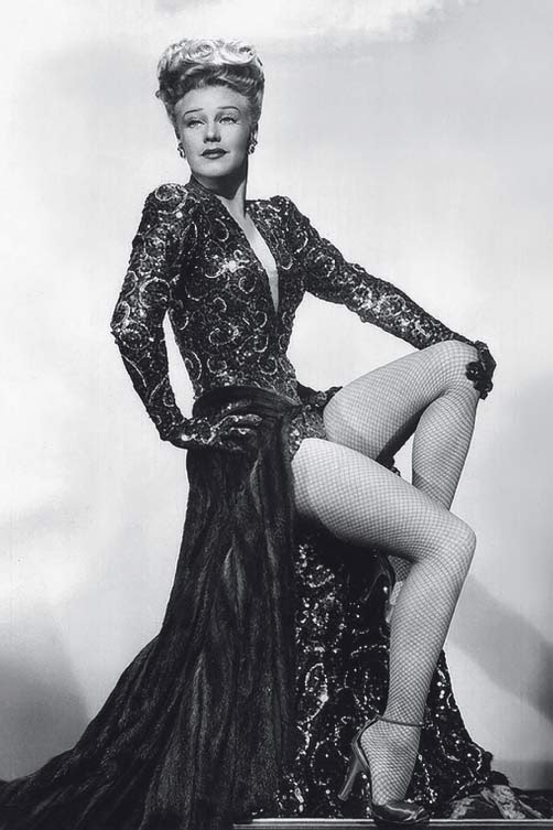 Closet Iconic Dress Ginger Rogers In Lady In The Dark