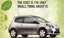 Renault Twingo - Publicidad engañosa - Greenwashing