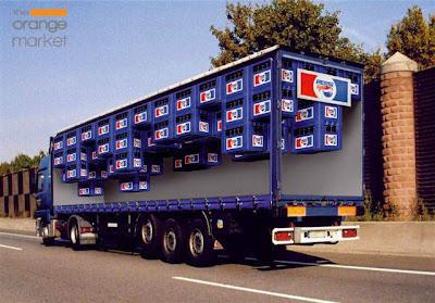 Publicidad en camiones - the orange market blog