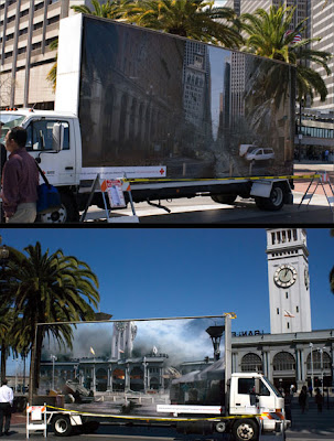 Cruz Roja - Guerrilla Marketing en San Francisco