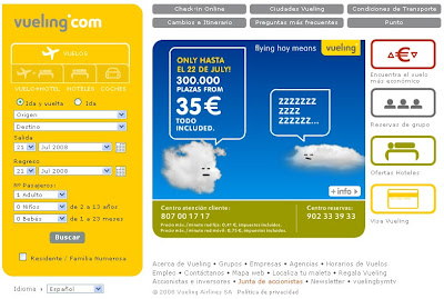 Marketing low cost - Vueling
