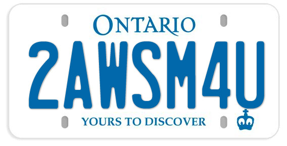 make your own ontario license plate the intrepid