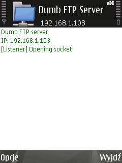 Various grumblings: Symbian FTP Server