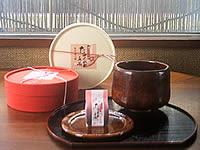 内橋亭の新しい茶菓子「たまひめ手箱」