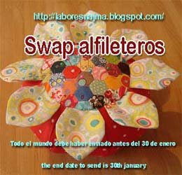 Swap alfileteros- Pincushion swap
