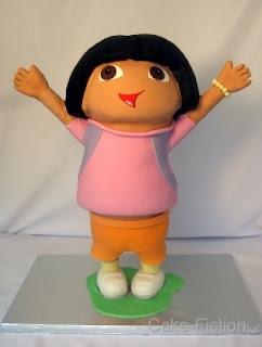 Cake Fiction Dora The Explorer Birthday Cake