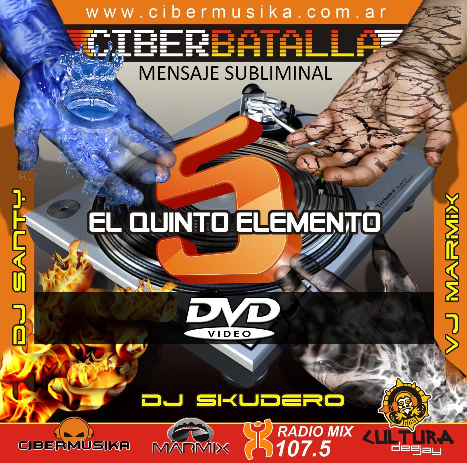 batalla cibermusika 7 dvd
