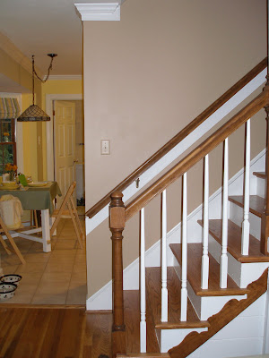 Bright As Yellow Hallway And Stairwell Get A Facelift