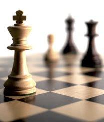 Xadrez só se aprende jogando