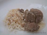 recettes  Blanquette de sauté de porc