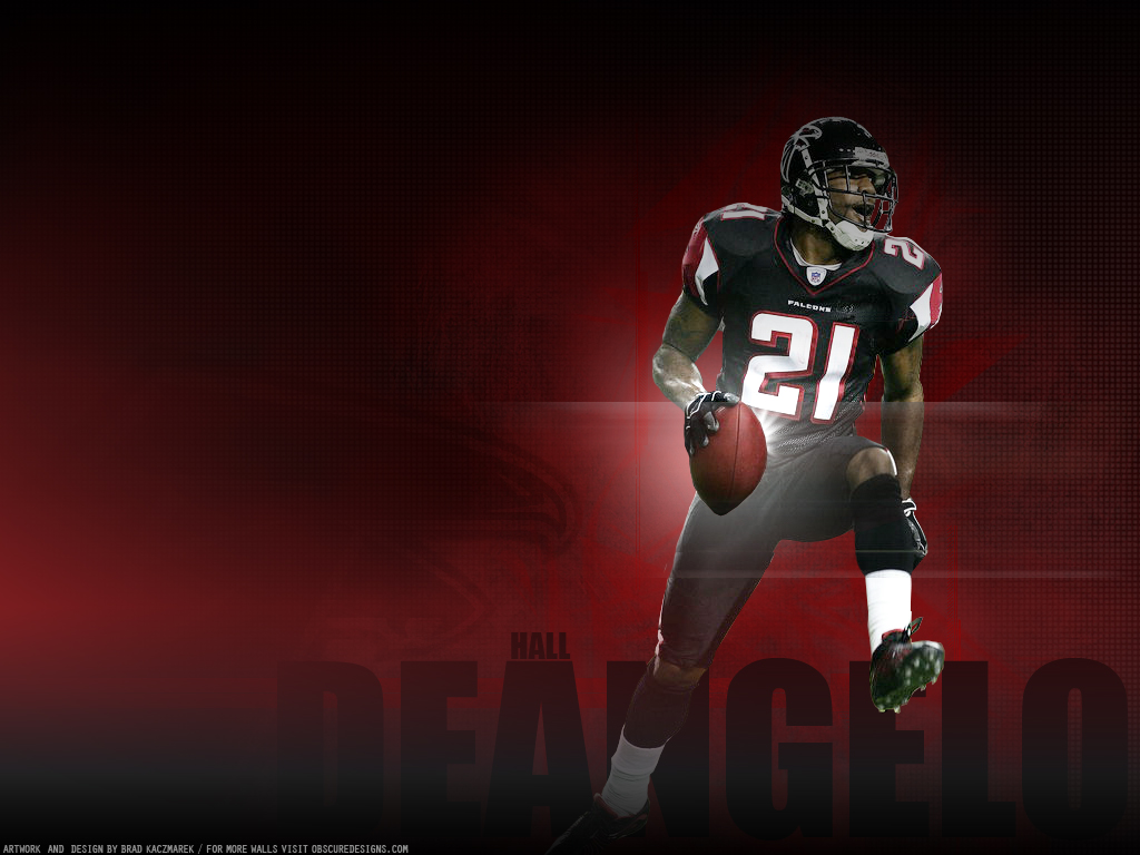 NFL Wallpapers: DeAngelo Hall - Atlanta Falcons