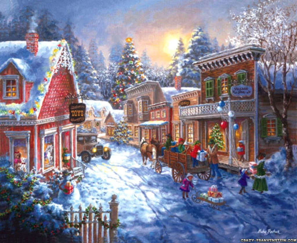 Poetry from the starlite cafe a quaint christmas town - Pretty christmas pictures ...