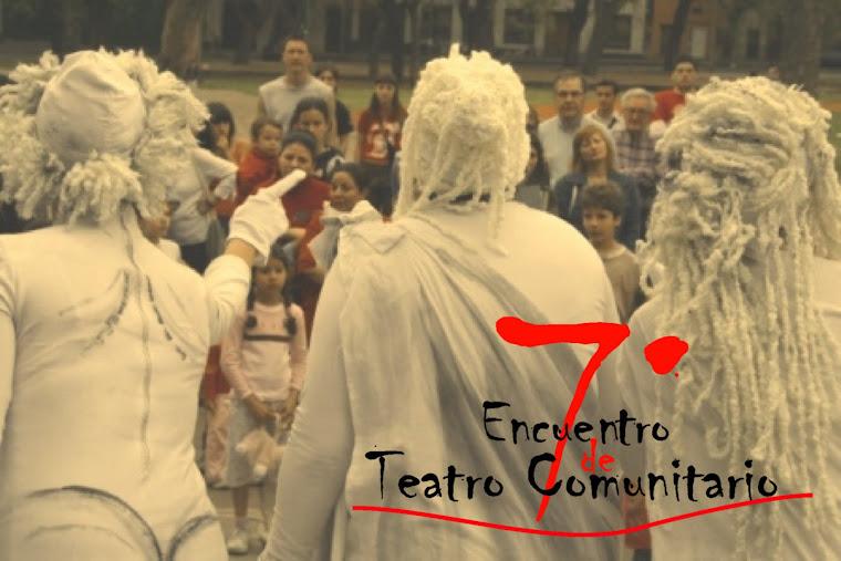 7º Encuentro de Teatro Comunitario
