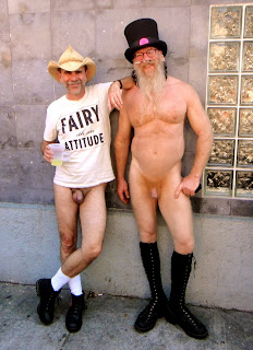 But As Soon As I Exited The Muni Station At Castro And Market Streets The Clothes Came Off I Spied My Friend And Fellow Nudist Activist George