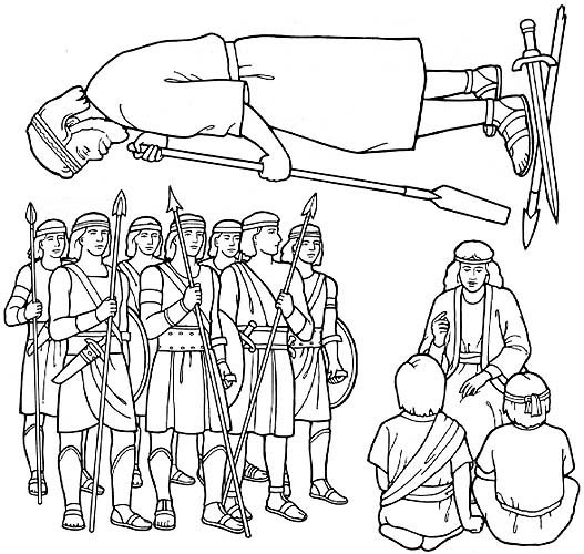 2000 stripling warriors coloring pages | FHE: Strippling Warriors