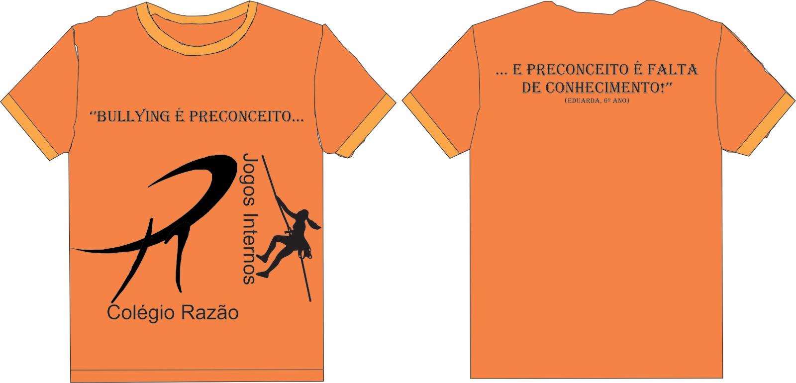 85d524fef2 Colégio Razão  Camisetas dos Jogos Internos do Colégio Razão