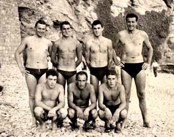 Rari Nantes Sori.Water Polo Legends 1958 The Team Of Rari Nantes Sori Italy